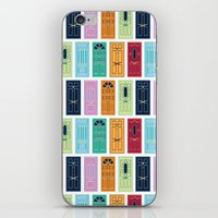 doors iPhone & iPod Skins featuring Doors by Luciana Brasil