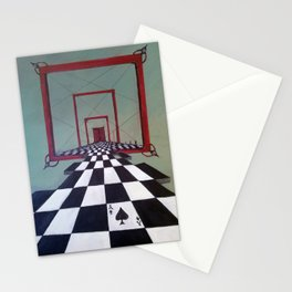 Mystic Door Stationery Cards