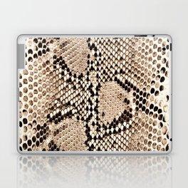 Snake skin art print Laptop & iPad Skin