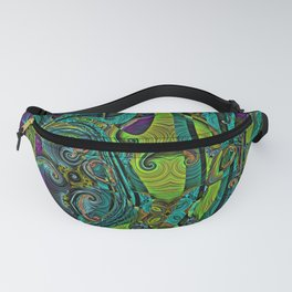 Electric Quilt Abstract Art Pattern Fanny Pack