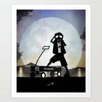 mcfly Art Prints featuring McFly Kid by Andy Fairhurst Art