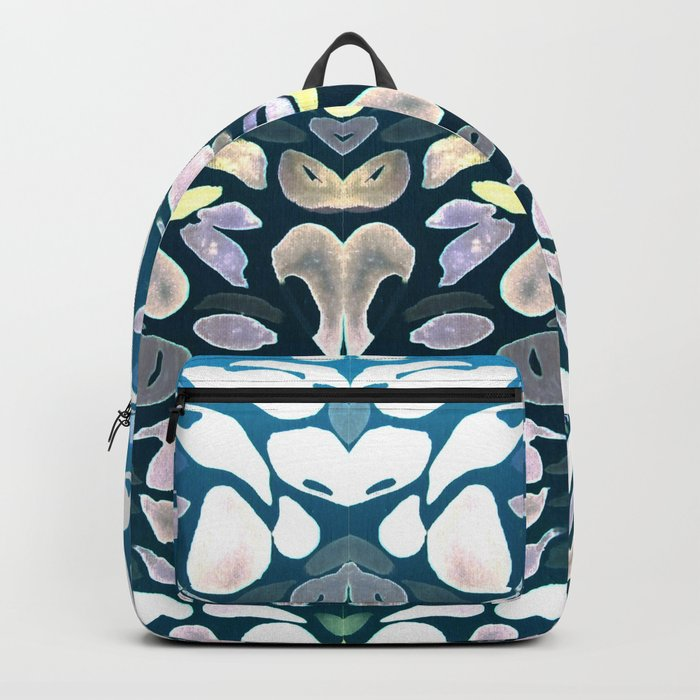 Under The Sea Summer Swimming Lessons, Dark Blue Backpack