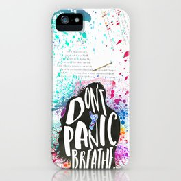 [Exclusive] - The Lovely Reckless - Don't Panic iPhone Case
