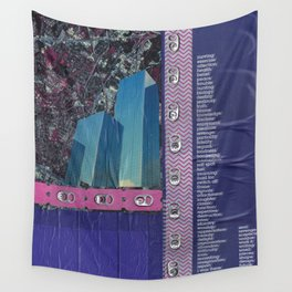 City Living Wall Tapestry