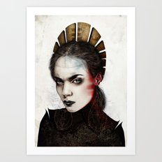 Saint Art Print
