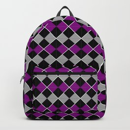 Queer Plaids - Ace Argyle Backpack