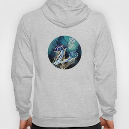 Metallic Jellyfish III Hoody