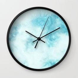 Wave Topography Wall Clock