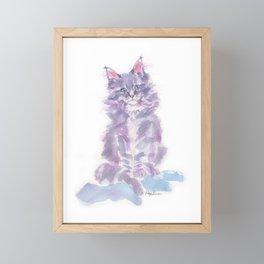 Little Violette Framed Mini Art Print