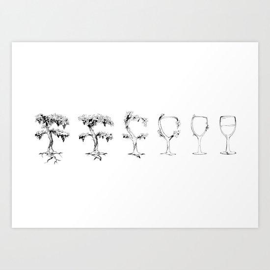 A Vine in Time Art Print