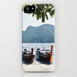 Longtail Lineup iPhone Case