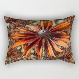 Not so Rude Rudbeckia Rectangular Pillow
