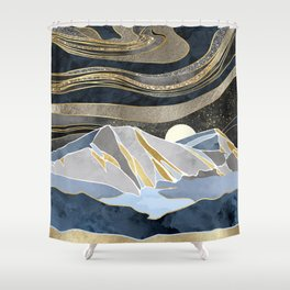 Metallic Sky Shower Curtain