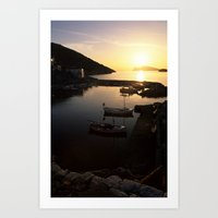 hydra Art Prints featuring Hydra by CandelaLight   Photography & Art