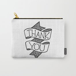 Thank you ribbon Carry-All Pouch