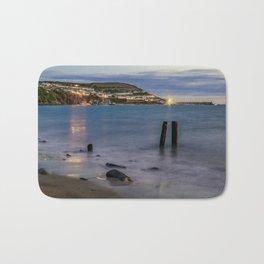 New Quay, Cardigan bay, Wales. Bath Mat