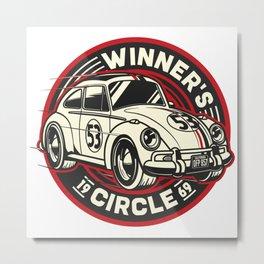 Winner's Circle - Herbie Metal Print