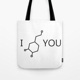 I Love You (Dopamine) Tote Bag