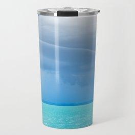 Before summer storm at a turquoise lake Travel Mug