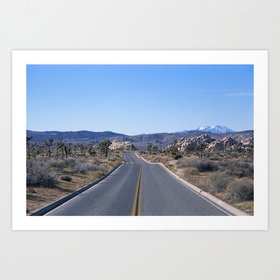 this road is my road Art Print