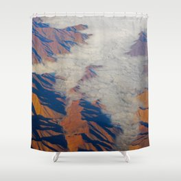 Misty Mountains Shower Curtain