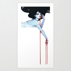 Vamp V.2 Art Print