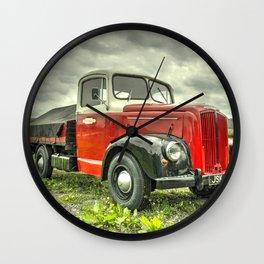 Morris Commercial Pickup Wall Clock