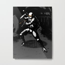 TMNT Mikey Metal Print