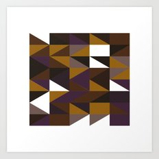 #508 Aztec revival – Geometry Daily Art Print