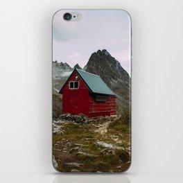 The Mint Hut in Hatcher Pass, Alaska iPhone Skin
