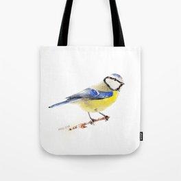 Eurasian Blue Tit Tote Bag