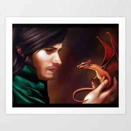 The Baby Dragon Art Print