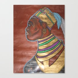 Blackman or African Canvas Print