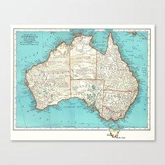 Australia; re-imagined Canvas Print
