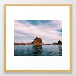 Lake Powell Pt. 3 Framed Art Print
