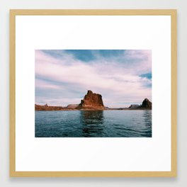 Lake Powell Pt. 3 Framed Art Print
