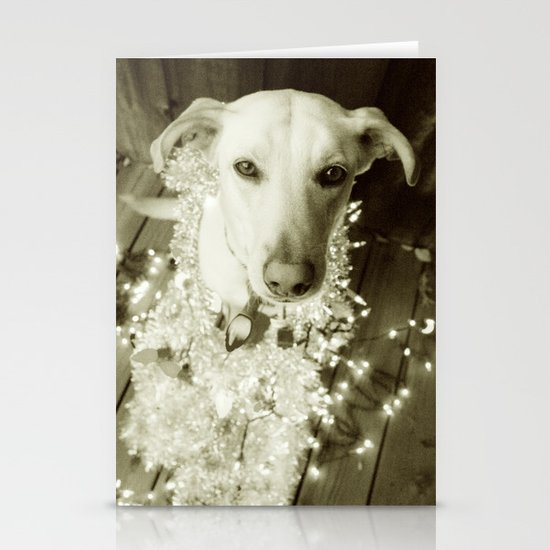 It's Beginning to Look a Lot Like Christmas B&W Stationery Cards