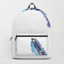 Clarinette Sound Aura Clarinette Player Gift Backpack