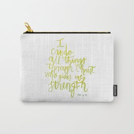 All Things Yellow Carry-All Pouch