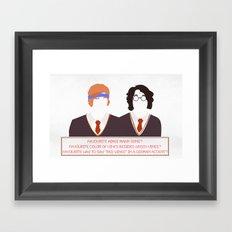 Red Vines? Framed Art Print