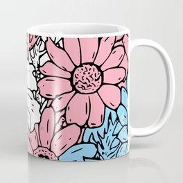Trans flowers Coffee Mug
