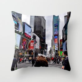Thwarted Throw Pillow