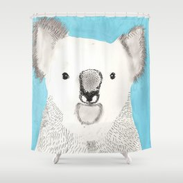 Russell The Koala Shower Curtain