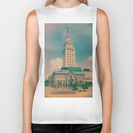 Freedom Tower Miami Biker Tank