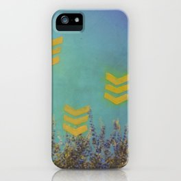 Above the Trees iPhone Case
