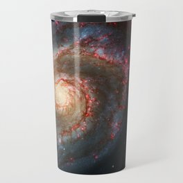 Whirlpool Galaxy and Companion Galaxy Travel Mug