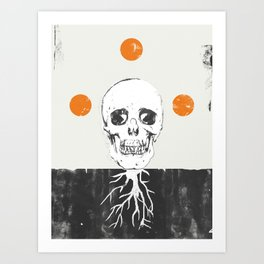 The Roots of Death Art Print