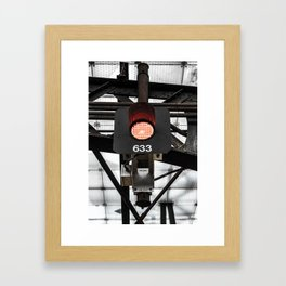 BURNERS Framed Art Print