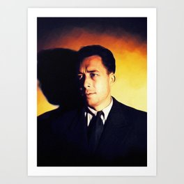 Albert Camus, Literary Legend Art Print