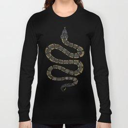 Serpent – Black & Gold Long Sleeve T-shirt